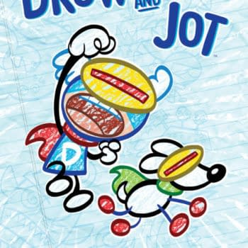 Art Baltazar Launches Graphic Novel Trilogy with Drew and Jot: Dueling Doodles