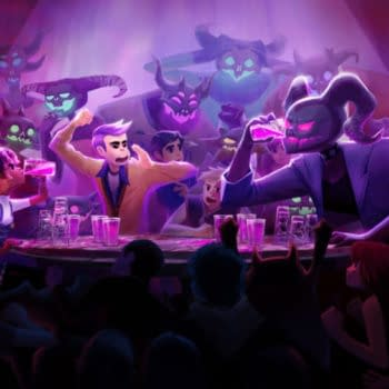 Having Drinking Contests with Demons in Afterparty