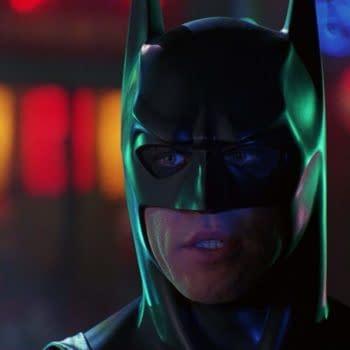 Val Kilmer as Batman in Batman Forever. Image courtesy of Warner Bros