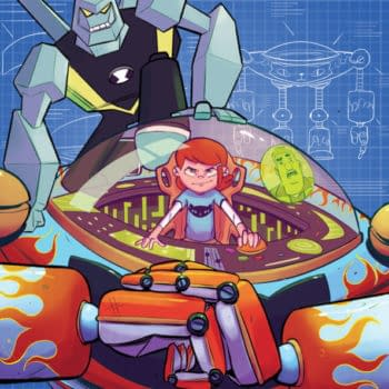 Ben 10 Goes Steampunk in New Graphic Novel Mecha Madness