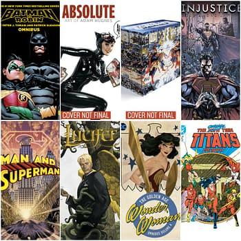 DC Omnibuses Absolutes and Big Books For the End of 2019 &#8211 Lucifer Adam Hughes Injustice and More