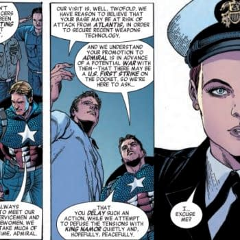 Captain America Making Friends and Influencing People in Next Week's Invaders #3