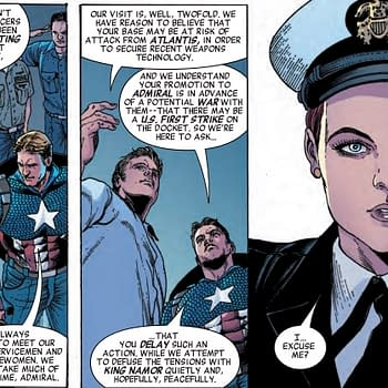 Captain America Making Friends and Influencing People in Next Weeks Invaders #3