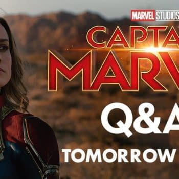 'Captain Marvel' Q&A Happening Tomorrow Morning on Twitter
