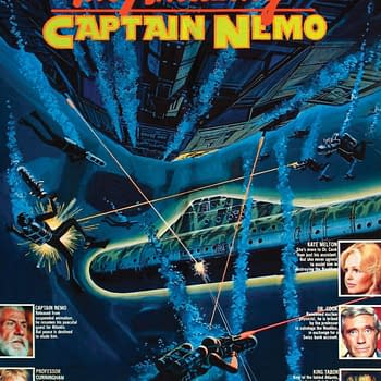 [Castle of Horror] The Amazing Captain Nemo Gives Nemo The 70s Buck Rogers Treatment