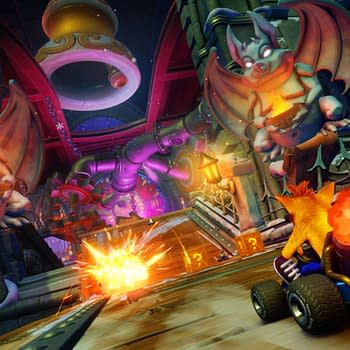 Watch Sony Race Dragon Mines in Crash Team Racing Nitro-Fueled