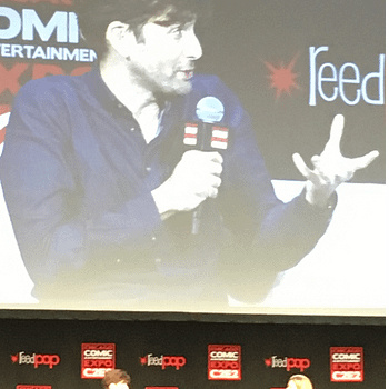 David Tennant Talks Doctor Who Kilgrave and Podcasts at C2E2
