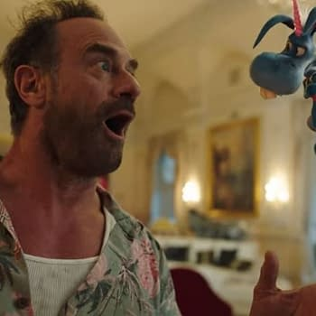 Happy Season 2: Christopher Meloni Patton Oswalt Show Us How The Mayhem Happens [VIDEO]