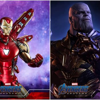 Hot Toys Reveals Avengers: Endgame Thanos and Iron Man Figures