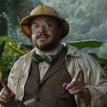Karen Gillan Jumanji 3 Video Proves Jack Black Sings in his Sleep