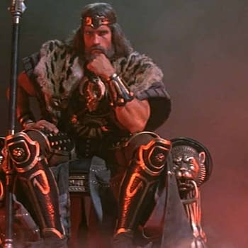 Arnold Schwarzenegger Details the Hold Up on King Conan Project