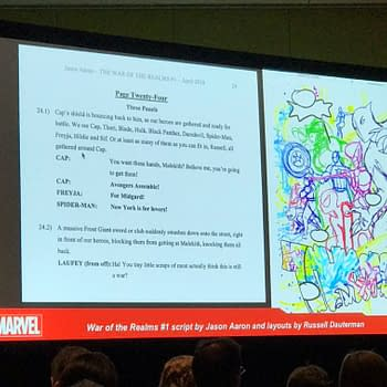 Making Comics the Marvel Way Panel at C2E2 &#8211 and Page 24 of War Of The Realms #1