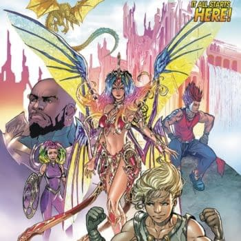 'Soulfire' Returns to Aspen Comics in June with Krul and Forte