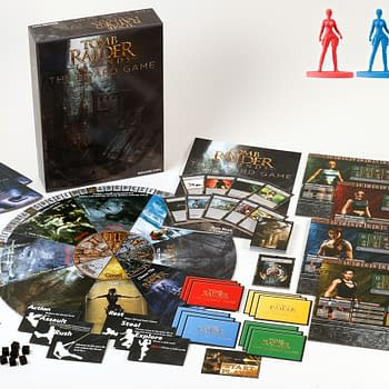 Square Enix Announces Tomb Raider Legends: The Board Game