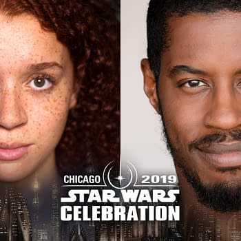 Star Wars Celebration: Erin Kellyman (Enfys Nest) Ahmed Best (Jar Jar Binks) Head to Chicago