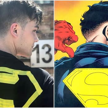 Titans: Conner Kent/Superboy Joshua Orpin Strikes a Pose Has No Time for Fakes