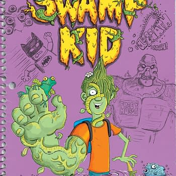Kirk Scroggs Reboots Swamp Thing as Swamp Kid