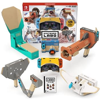 Nintendo Shows Off More of Nintendo Labo: VR Kit in New Video