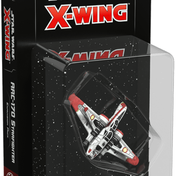 Check out the Arc-170 Starfighter for Star Wars: X-wing!