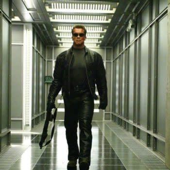 "Arnold Schwarzenegger on 'Terminator 6' ""Control Freak"" James Cameron"