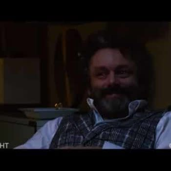 'The Good Fight': Michael Sheen/Christine Baranski Penis Rumor Comes to A Head
