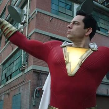 Watch Shazam Try To Sneak Back into the House in New Clip