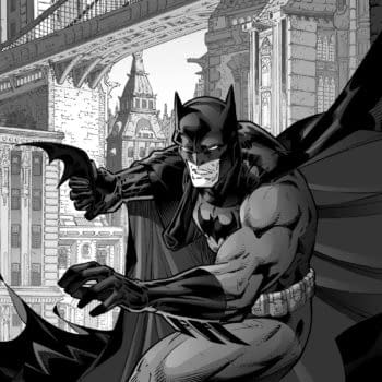 Would You Color Your Own Batman Black and White Omnibus?