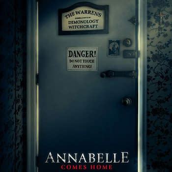 First Poster For Annabelle Comes Home Features a Door You Do NOT Want to Open