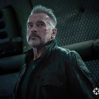 New Picture of Arnold Schwarzenegger in Terminator: Dark Fate