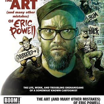 BOOM to Expose Scandalous Eric Powell Stories and Gossip in New Art Book