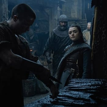 Maisie Williams Joe Dempsie Talk THAT Game of Thrones Season 8 Scene [SPOILERS]