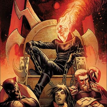 Get Ready for Hot Ghost Rider on Ghost Rider Action with Avengers #22