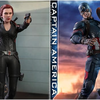Avengers: Endgame Hot Toys of Black Widow Captain America Up For Order