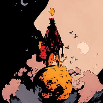 Its the End of the World in B.P.R.D.: The Devil You Know #15 and I Feel Fine