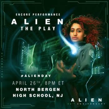 High School Drama Production of 'Alien' Continuation Set for Alien Day, April 26th!