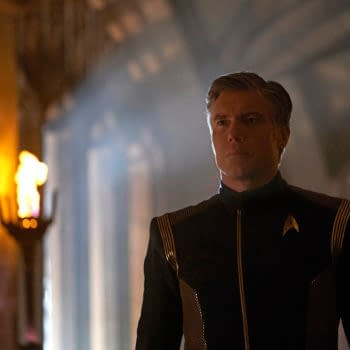 """'Star Trek: Discovery' – Anson Mount Talks Pike's Fate, Make-Up Being """"Better Than Digging Ditches"""" [VIDEO]"""