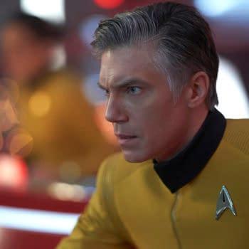 Star Trek: Strange New Worlds – Anson Mount Talks Pike, Batman & More