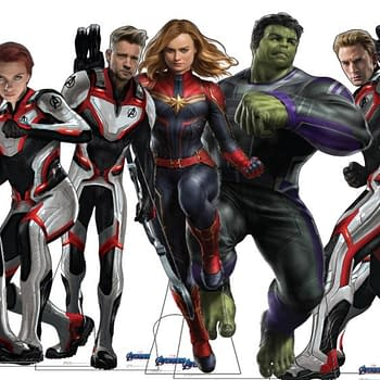 Avengers: Endgame Characters From War Machine to Thanos Get Standees