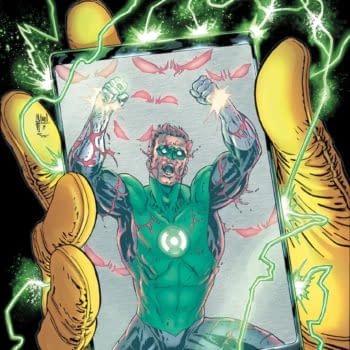 Hal Forced to Chose Between Annoying Sidekick or Armageddon in Green Lantern Annual