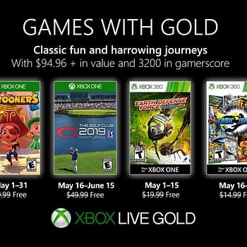 Xbox Games with Golds May 2019 Lineup Announced