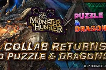 Monster Hunter Returns to Puzzle &#038 Dragons