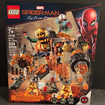 Lets Take a Look at LEGO Spider-Man: Far From Homes Molten Man Set