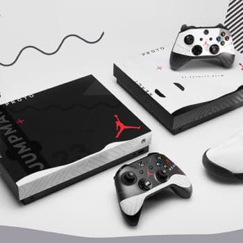 Microsoft Giving Away a Jordan Proto-React Xbox One With Sneakers