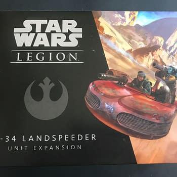 Looking Under the Hood of Fantasy Flights X-34 Landspeeder for Star Wars: Legion