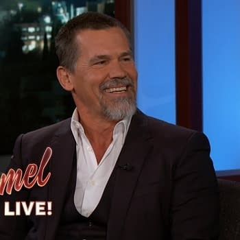 Josh Brolin Stops by Jimmy Kimmel Live: Talks Thanos Dune and Jason Momoa