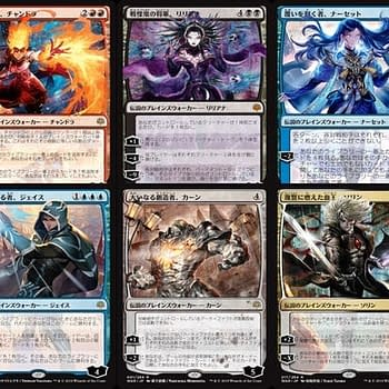 Magic: The Gathering Gets Japanese Art Planeswalkers