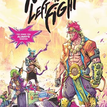 No One Left to Fight: Sitterson and Ossios Anime Comic You Always Wanted Set for July