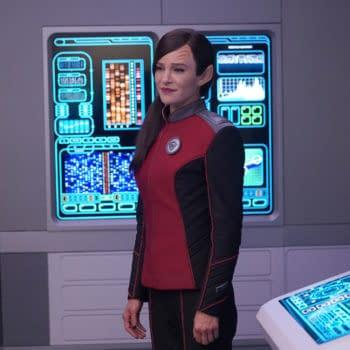 The Orville Season 3: Jessica Szohr Photobomb; Good News In The Cards?