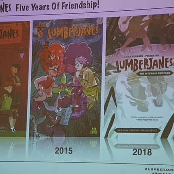 Lumberjanes is Five Years Old and They Brought Presents to WonderCon