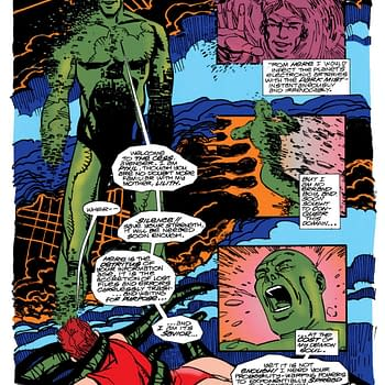 Digital Terror How Charlie Adlard Saw Cyberspace in 1993 Via Marvel Unlimited
